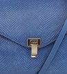 Bolsa Satchel Média Azul