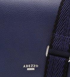 Bolsa Tiracolo Couro Giulia Média Navy Blue