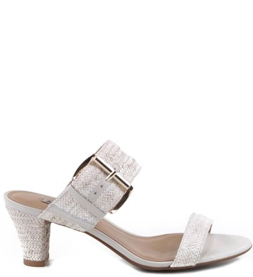 Mule Mini Tressê Off-White