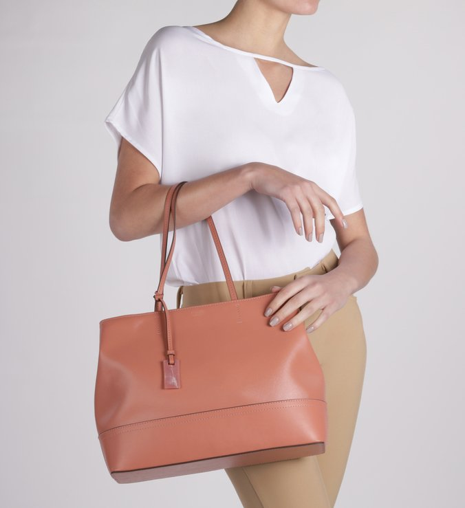 Bolsa Shopping Grande Dusty Coral