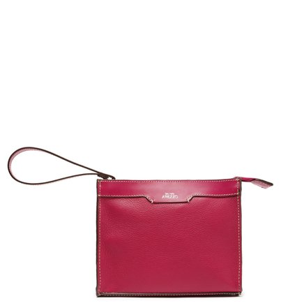 Pouch Rosa Couro Bee.ZZ