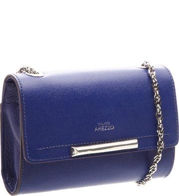 Bolsa Clutch Auguri Couro Digital Blue