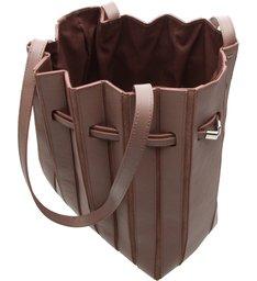 Bolsa Bucket Grande Couro Parioli Shadow