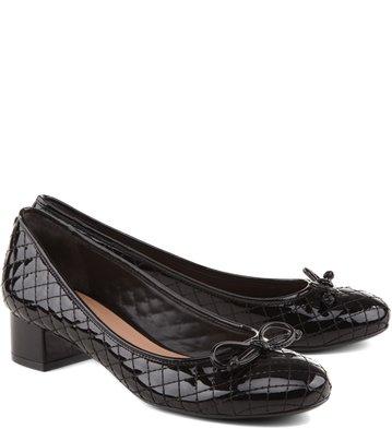 Sapato Matelassê Preto