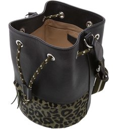 Bolsa Bucket Prione Média Animal Print City Army