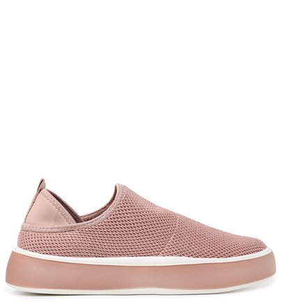 Slip On Marrom ZZ Now Knit Sola Alta