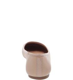 Sapatilha Verniz Bico Redondo Light Cream