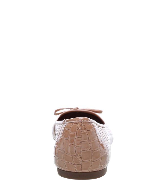 Sapatilha Verniz Croco Antique