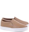 Slip-on Couro Nude-Rose
