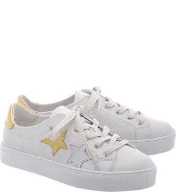 Tênis Branco Couro Stardust