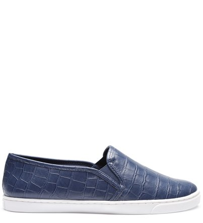 Slip-on Casual Navy Blue