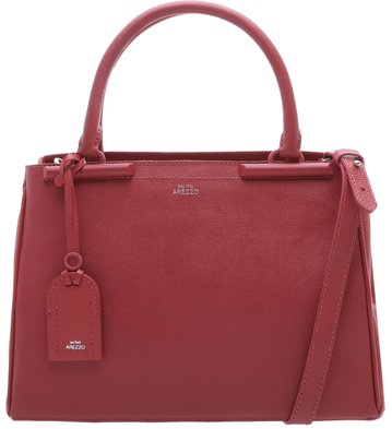 Bolsa Satchel Auguri Personalizável Dusty Blush