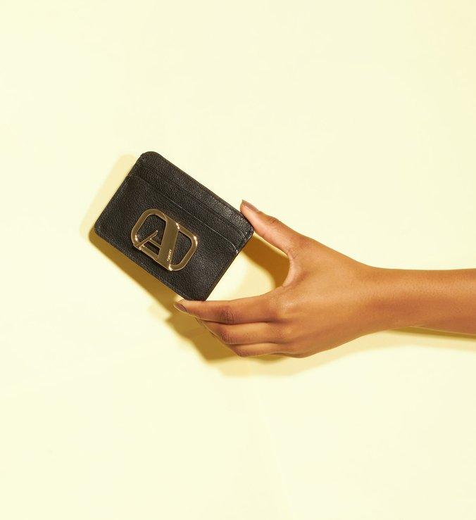 Porta-cartões Preto Couro Speciale