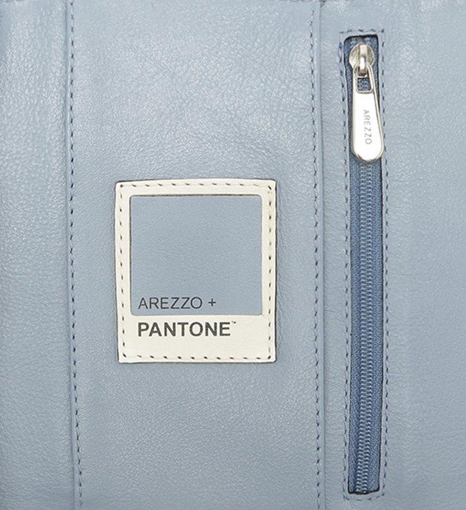 Carteira Pantone Couro Jelly Blue Azul