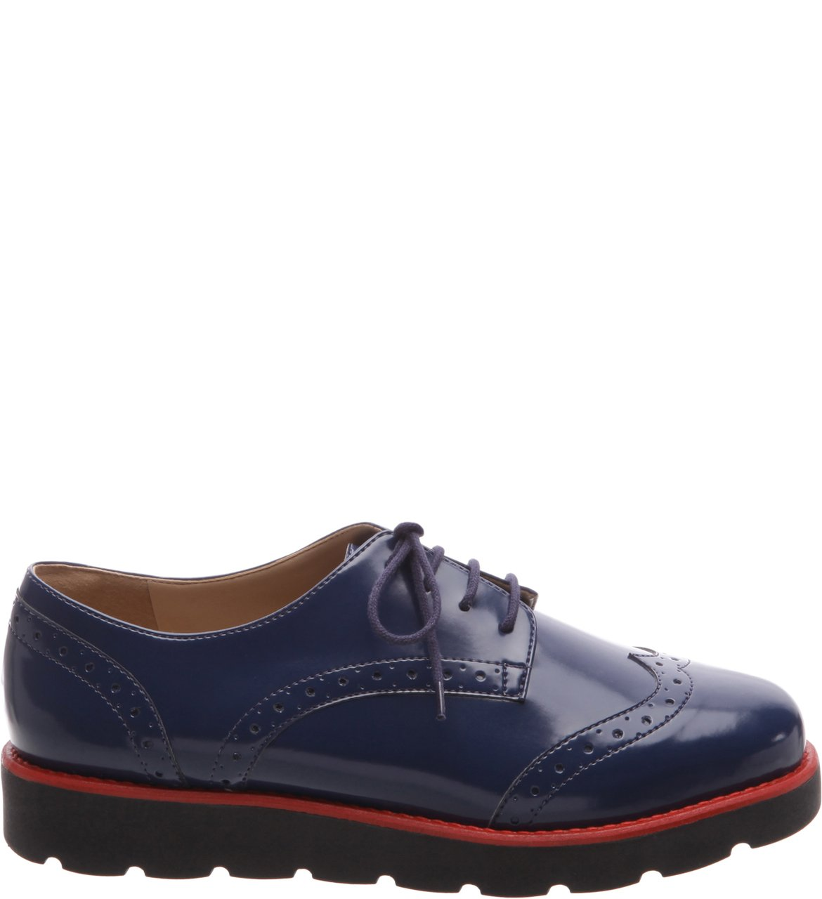 Oxford Marinho Color Line Red | Arezzo