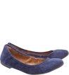 Sapatilha acamurçada Azul
