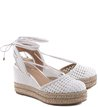 Espadrille Mix Tramado Off-White