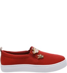 Disney | Tênis Slip-on Pins Royal Red
