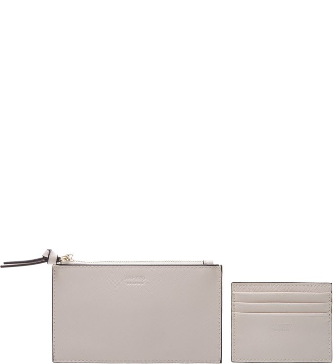 Bolsa Tiracolo Envelope Off white