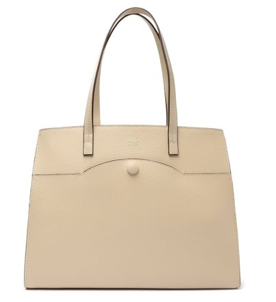 Bolsa Shopping Off-White Dalia Grande