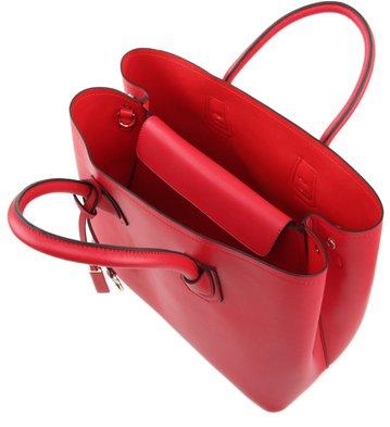 Bolsa Satchel Grande Vermelha