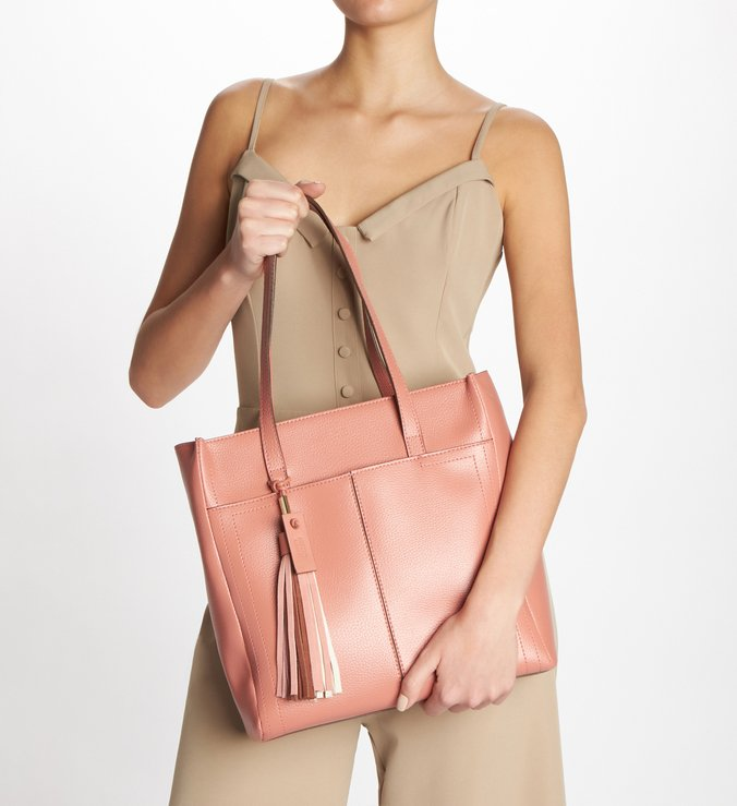 Bolsa Shopping Rosa Grande Lady Blush
