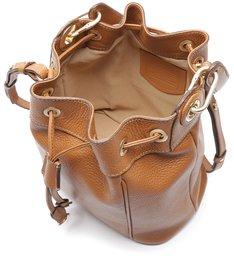 Bolsa Bucket Couro Selena Média Cupuaçu