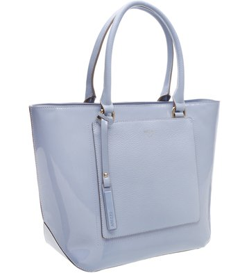 Bolsa Shopping Luminosa Crystal Blue