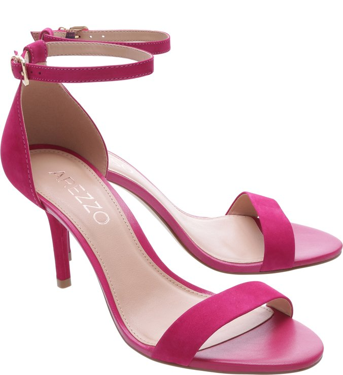 Sandália Nobuck Isabelli Média Lady Pink