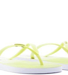 PANTONE | Chinelo Rasteiro Pallete Amarelo Lemon Cake