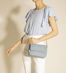 Bolsa Tiracolo Azul Tecido Jeans Vicky Pequena