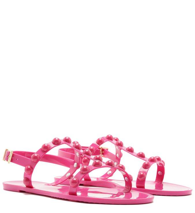 Rasteira Injetado Bico Redondo Aplicações Resina Summer Pink