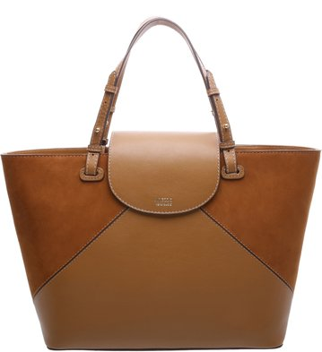 Bolsa Couro Shopping Donatella Scotch