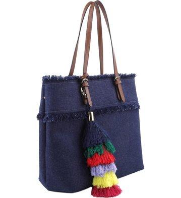 Bolsa Shopping Priscila Colors Jeans