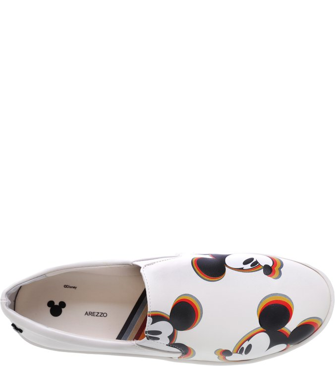 Disney | Tênis Slip-on Disney Bianco