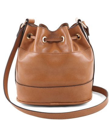 Mini Bag Nobuck Tan