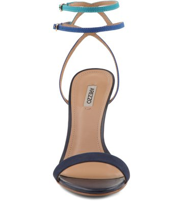Sandália Minimal Multiazul