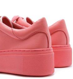 PANTONE | Tênis Couro Feminino Total Color Rosa Ice Cream