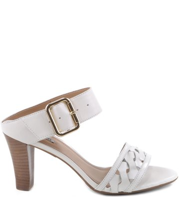Mule Recortes Off-White