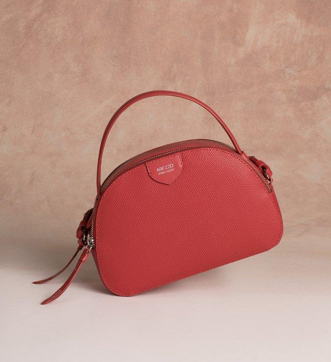 Bolsa Tiracolo Couro Rafa Pequena Lust Red