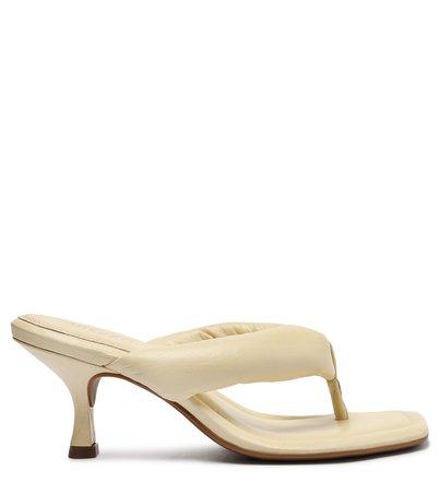 Sandália Off-White Salto Fino Flip-Flop