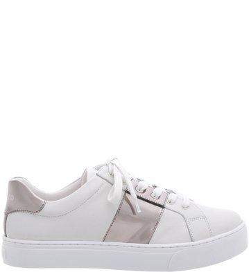 Tênis Couro Silver Stripe Blanc