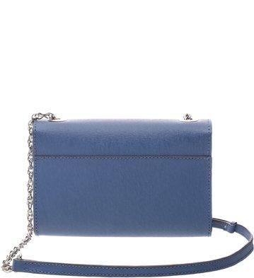 Bolsa Couro Clutch Auguri Pequena Bluebird