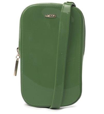 Mini Bolsa Verde Duda Porta-Celular Brizza