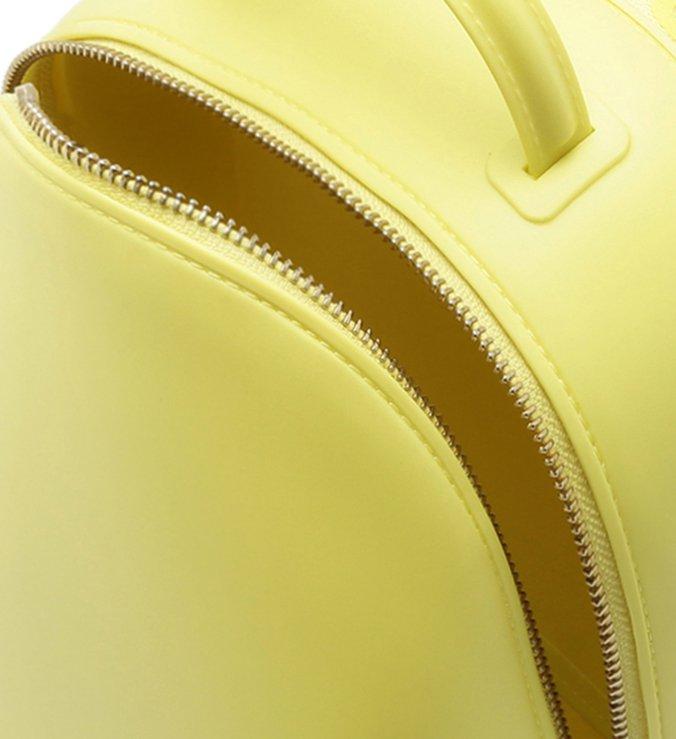 PANTONE | Mochila Caramella Média Amarela Fosca