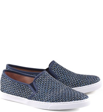 Slip-on Jacquard Favo Navy