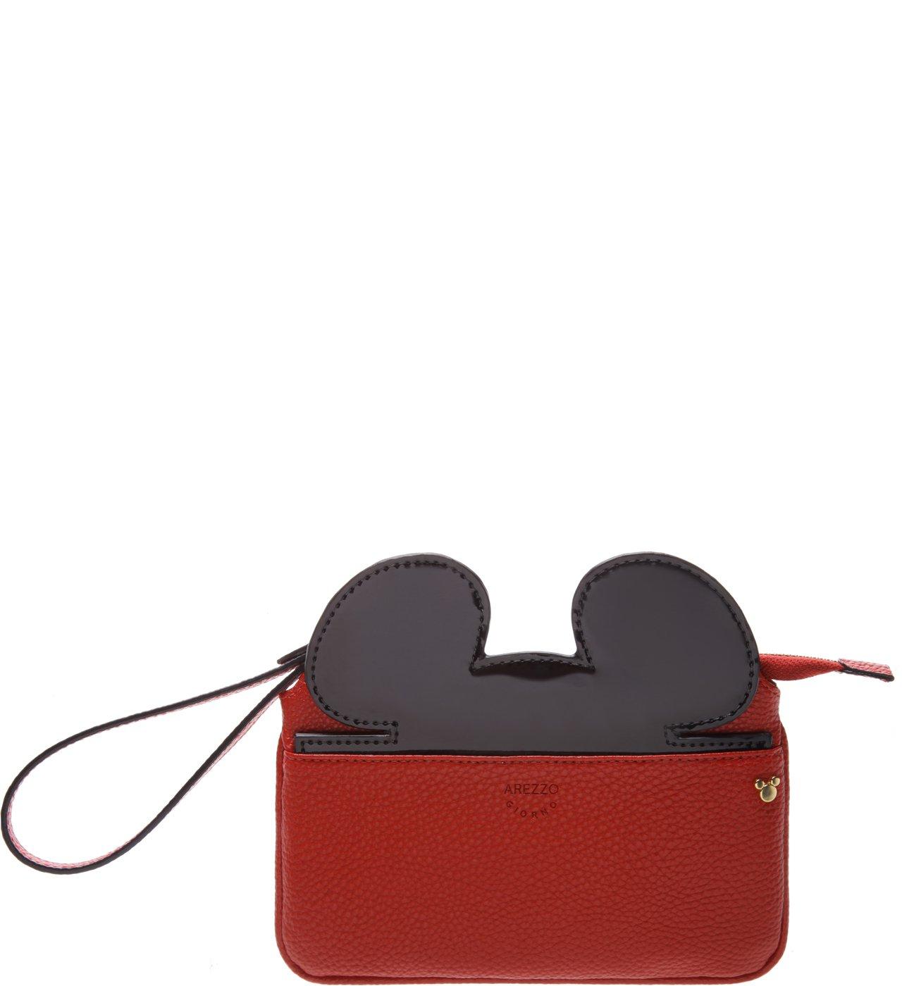 Disney | Necessaire Grande Disney Royal Red e Preta | Arezzo