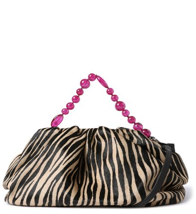 Bolsa Tiracolo Zebra Pelo Amanda Grande