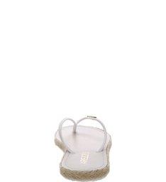 Chinelo  Revestido  Cordas Trançadas Bianco