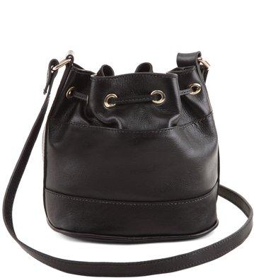 Mini Bag Nobuck Preta